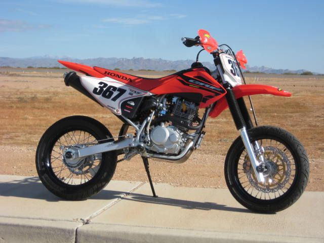 Crf 150 230 Conversion To Supermoto Setup Supermoto Motorcross Bike Supermoto Wheels