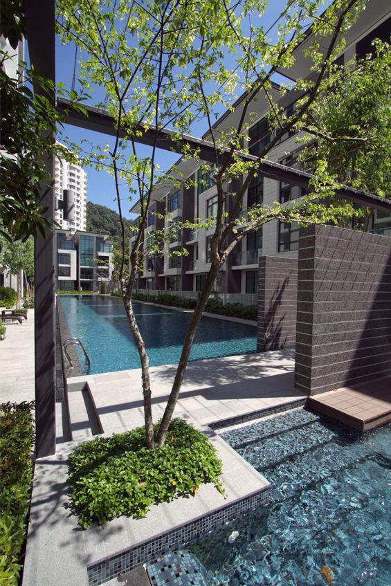 The address bukit jambul malaysia landart design for Backyard design ideas malaysia