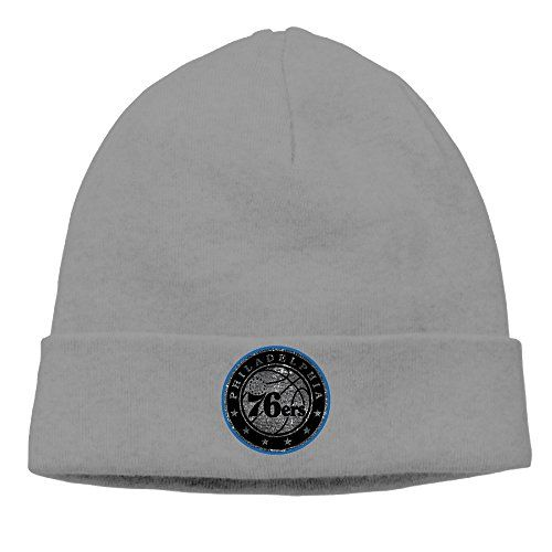 5fd10eb055e Philadelphia 76ers Cool Black Up And Over Logo Hipster Beanie Woolen Watch  Ski Hat