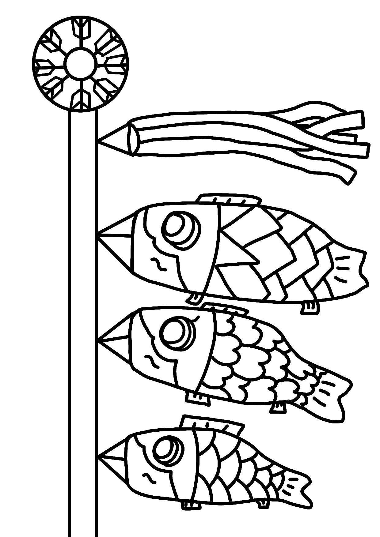 Kids Nurie ベスト 5 月 イラスト 塗り絵 イラスト 塗り絵 塗り絵 鯉のぼり イラスト