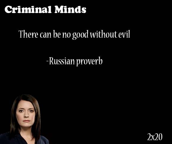 There Can Be No Good Without Evil Russian Proverb Said By