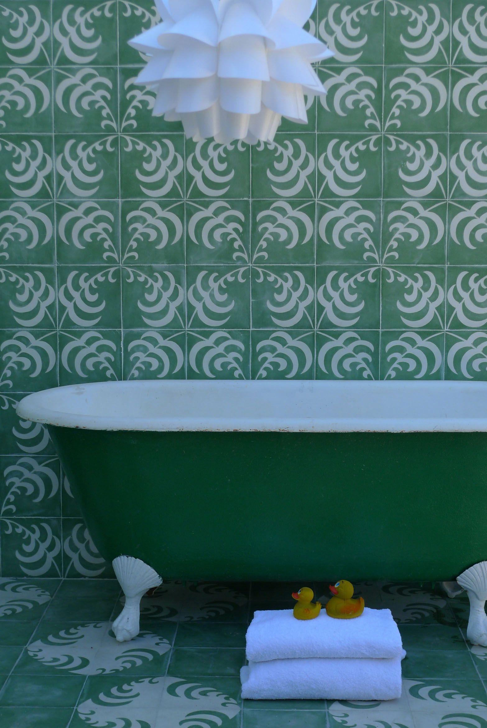 popham design :: cement tiles :: handmade in morocco   Formal A-tile ...