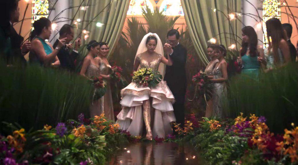 Water Aisle Wedding Movies Asian Wedding Dress Crazy Rich Asians