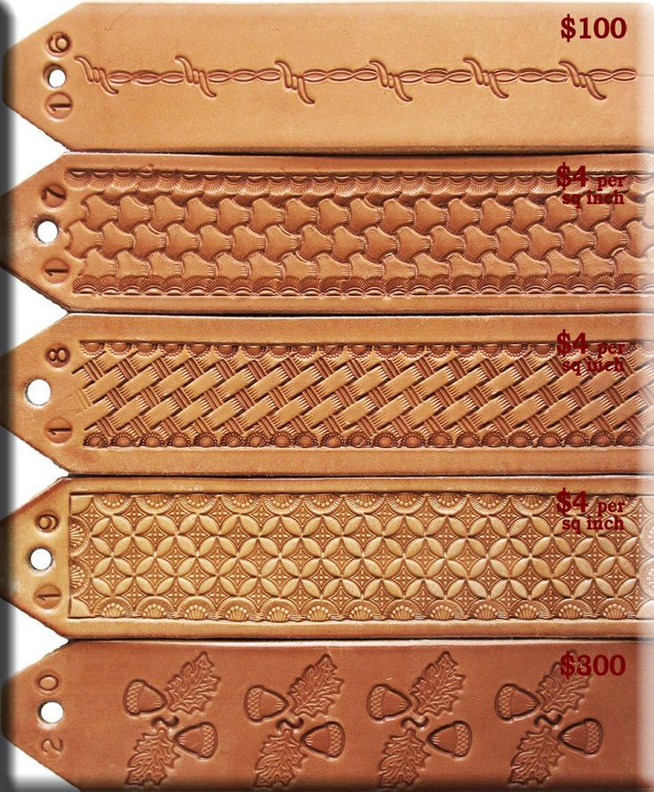 Leather Tooling Patterns Leather Design Ideas Leather Tooling