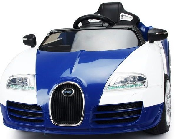 Veyron Style Coches 12vRcAzulIndalchess Niños Para Bugatti hdtrsQCx