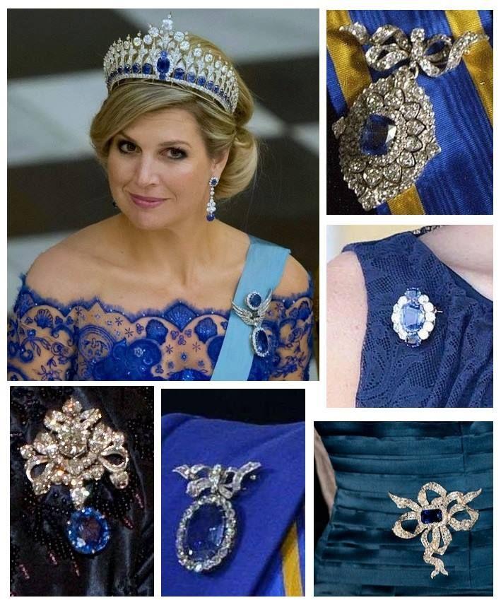 Queen Maxima's Sapphires | Jewel Detective