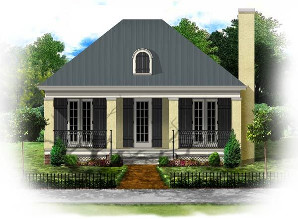 Tiny Cottage House Plans   BSA Home Plans  Simplicity Collection    Tiny Cottage House Plans   BSA Home Plans  Simplicity Collection   House Plans   Pinterest   French Colonial  Colonial and French Style Homes