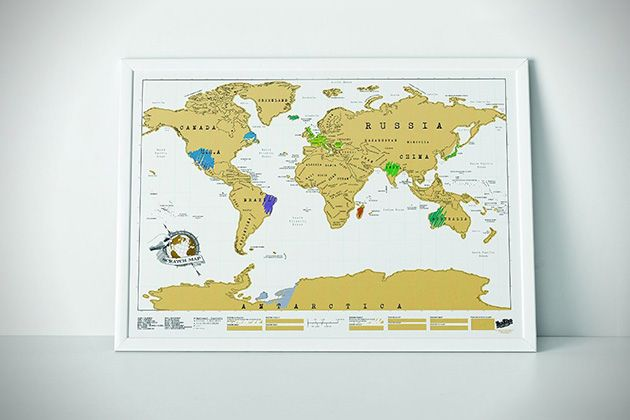 Scratch off world map scratch pinterest the worlds most unique collection of wall maps scratchable posters that allow you to create your own visual travel record gumiabroncs Images