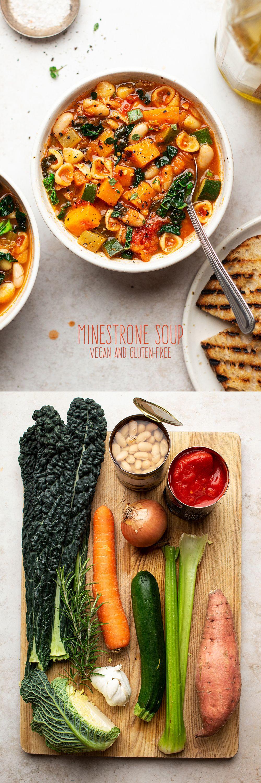 Vegan minestrone #dinnerideas2019