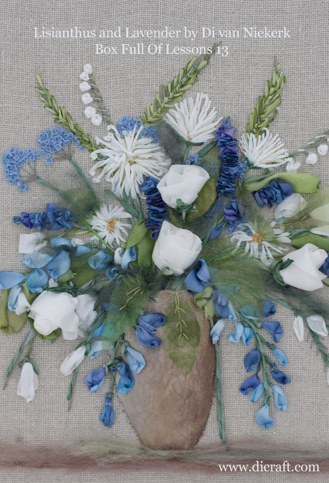 A Lovely New Silk Ribbon Embroidery Kit Especially For The Beginner