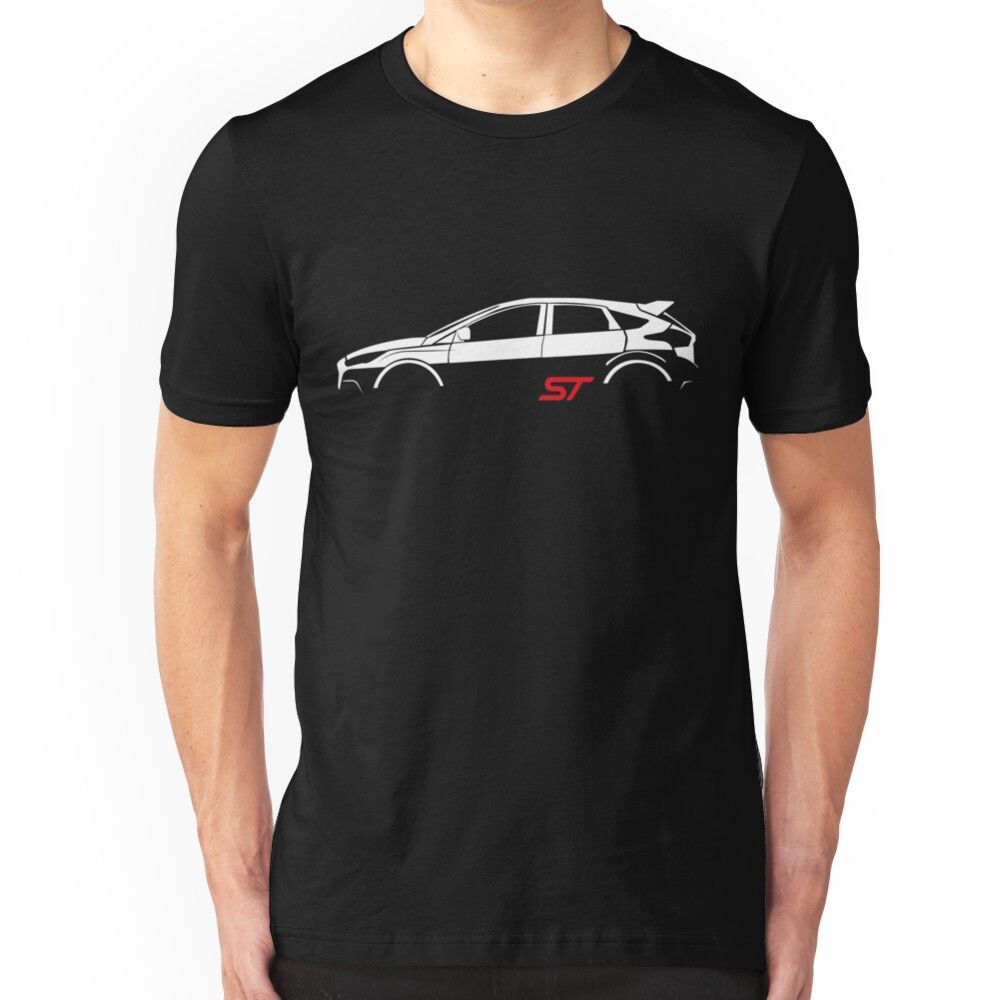 Ford Focus St Vector Essential T Shirt By Alice Lavalle Ford Focus St Ford Focus Ford