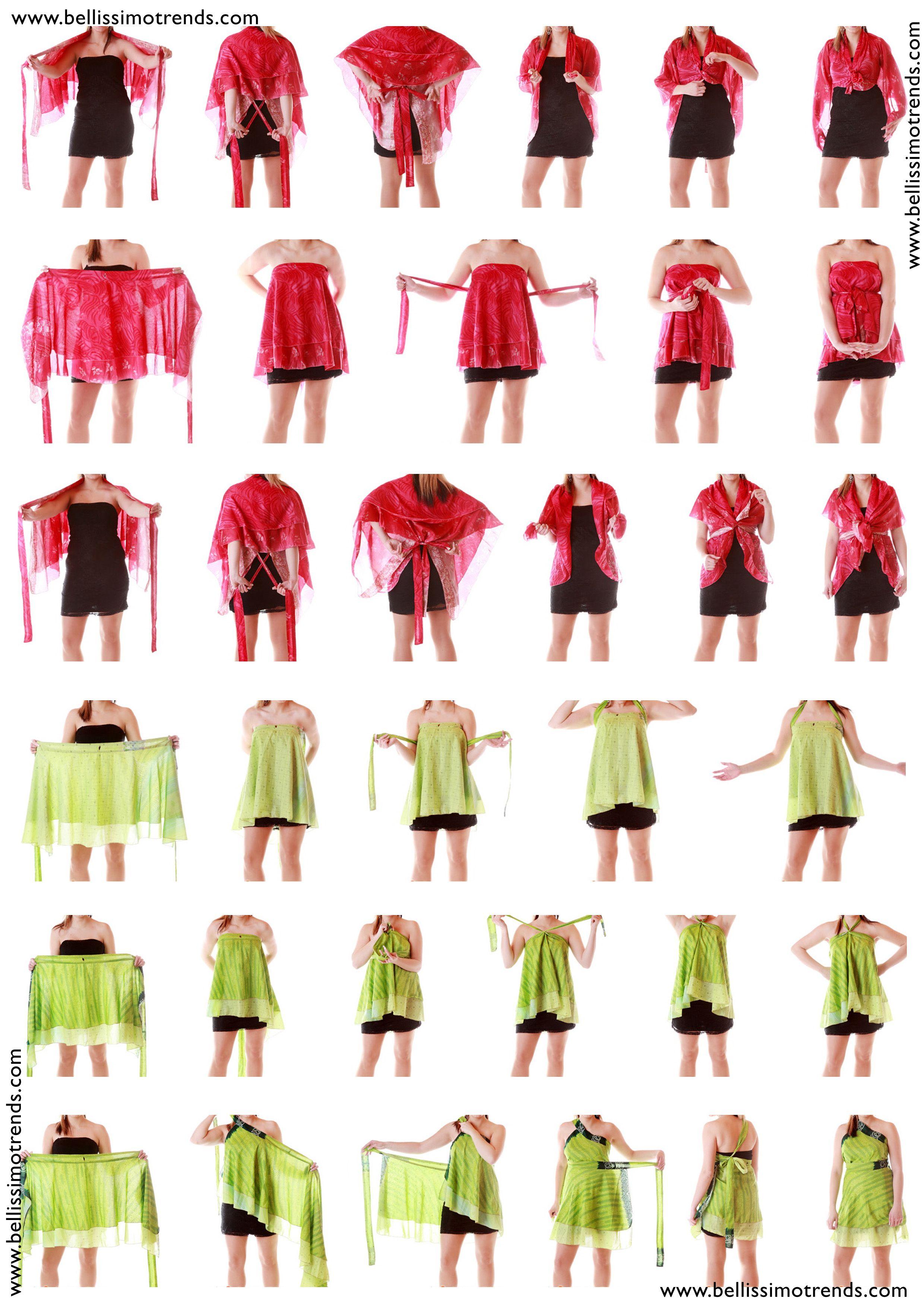 Pareos falda transformables multiusos | Saris, Patchwork and Wraps