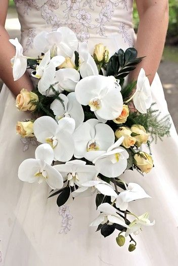 Brautstrauss Orchideen Bildergalerie Pinterest Wedding
