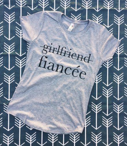 1bc75597 GIRLFRIEND FIANCEE SHIRT, girlfriend fiance shirt, girlfriend fiancee, girlfriend  fiance, fiancee shirt, fiance shirt, engaged af, engaged