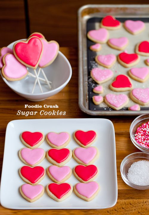 Craving Sweet On Sugar Cookies Plus Valentine S Day Hearts From