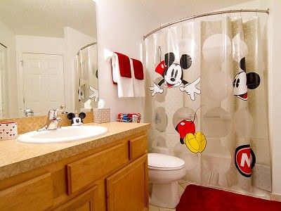 Mickey Mouse Bathroom Mickey Mouse Bathroom Disney Bathroom Kids Bathroom Disney mickey mouse bathroom decor