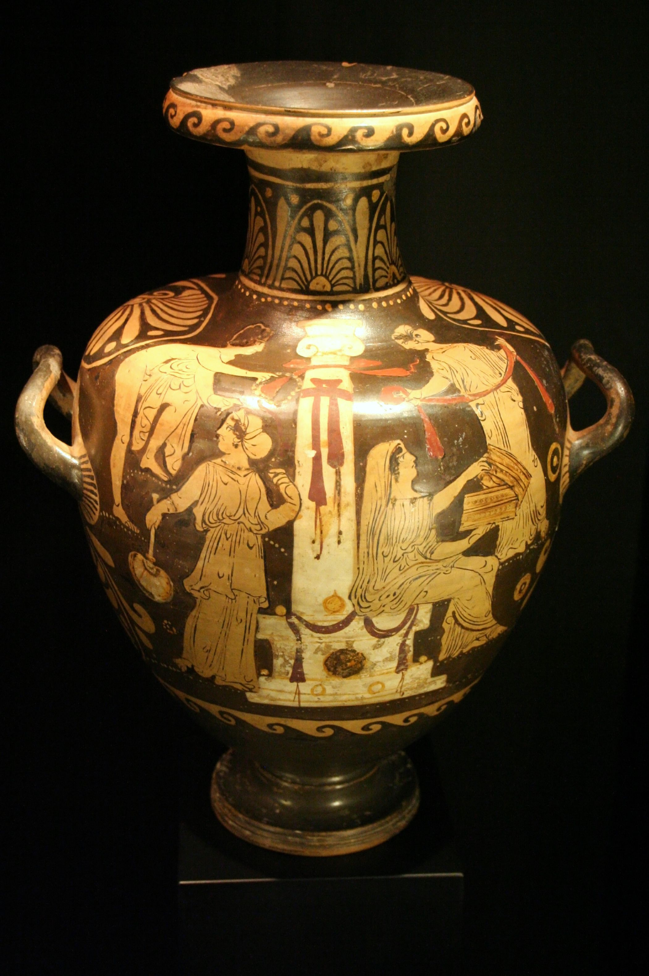 Circle of the libation painter southern italy title greek vase circle of the libation painter southern italy title greek vase with red figures reviewsmspy