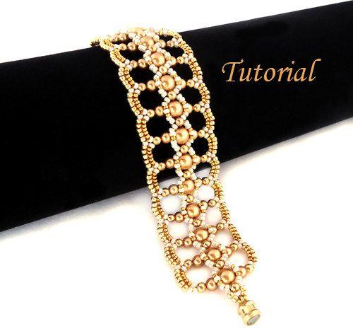Tutorial Let It Shine Bracelet  Beading Pattern by Ellad2 on Etsy, $6.00