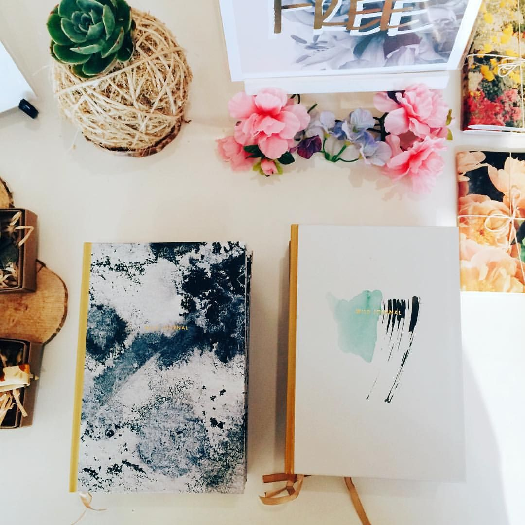 Our journals at @thebreadandbutterletter  #wildwagonco