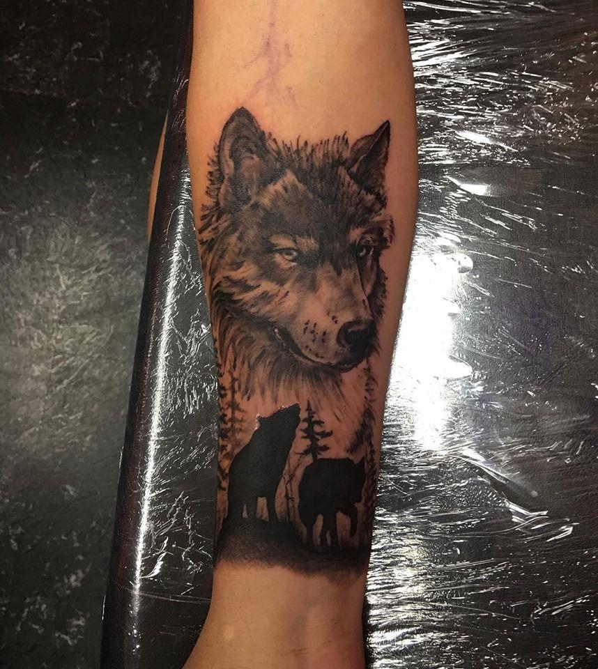 Wolf Tattoo Tattoos Grey Wolf Tattoo Wolf Tattoo