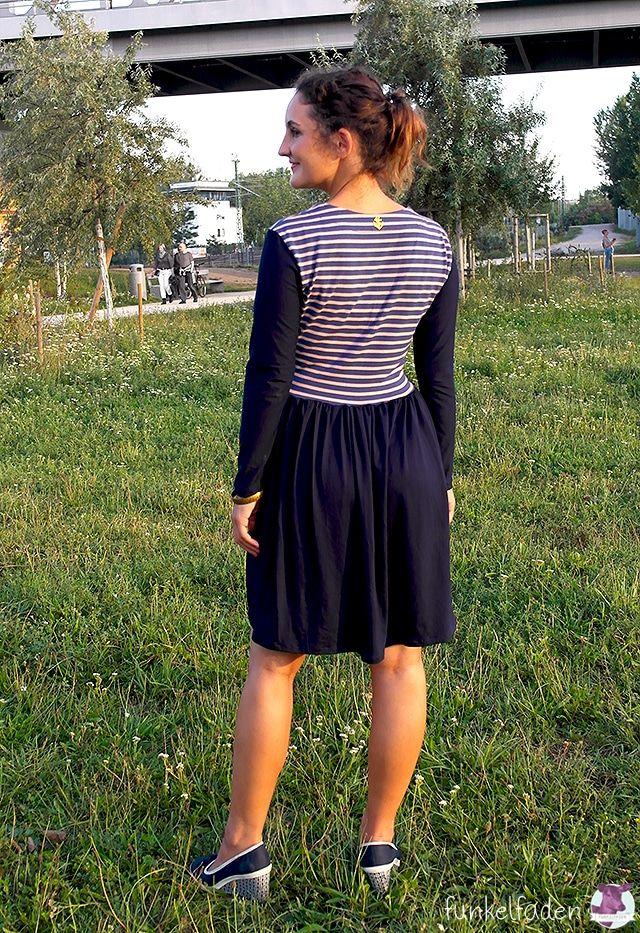 Jerseykleider nähen Die 5 schönsten Kleider für den ...