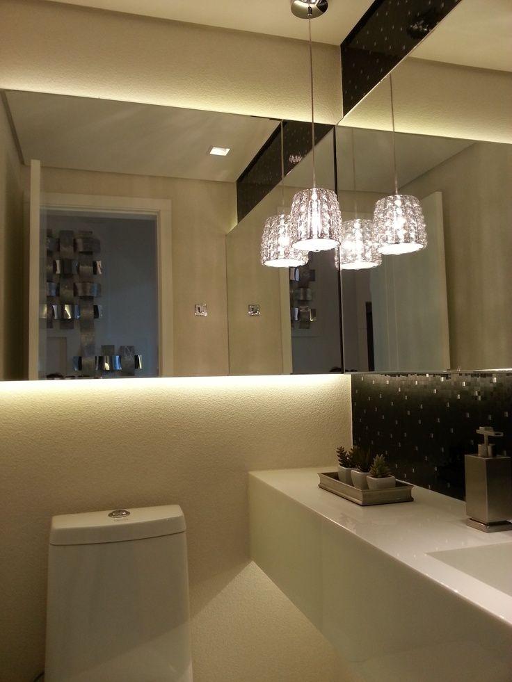 Resultado de imagem para pendente em lavabo | Iluminação ...