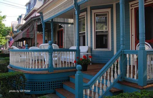 This Gorgeous Victorian Front Porch Has The Best Of Both Worlds   Covered  And Uncovered.