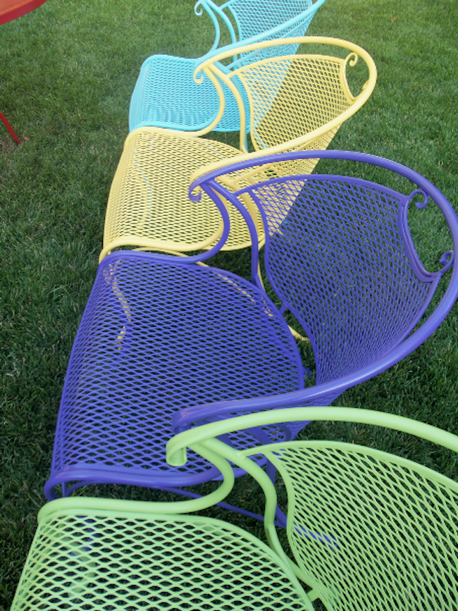 How to Paint Outdoor Furniture  Spray painting and Sprays