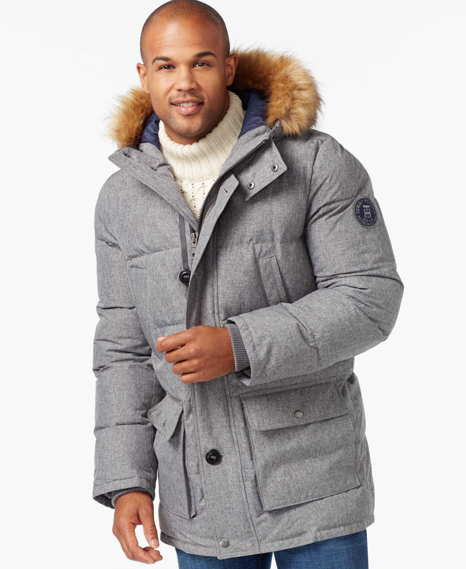 58db7547a Long Snorkel Coat | Men's styles | Tommy hilfiger jackets, Tommy ...
