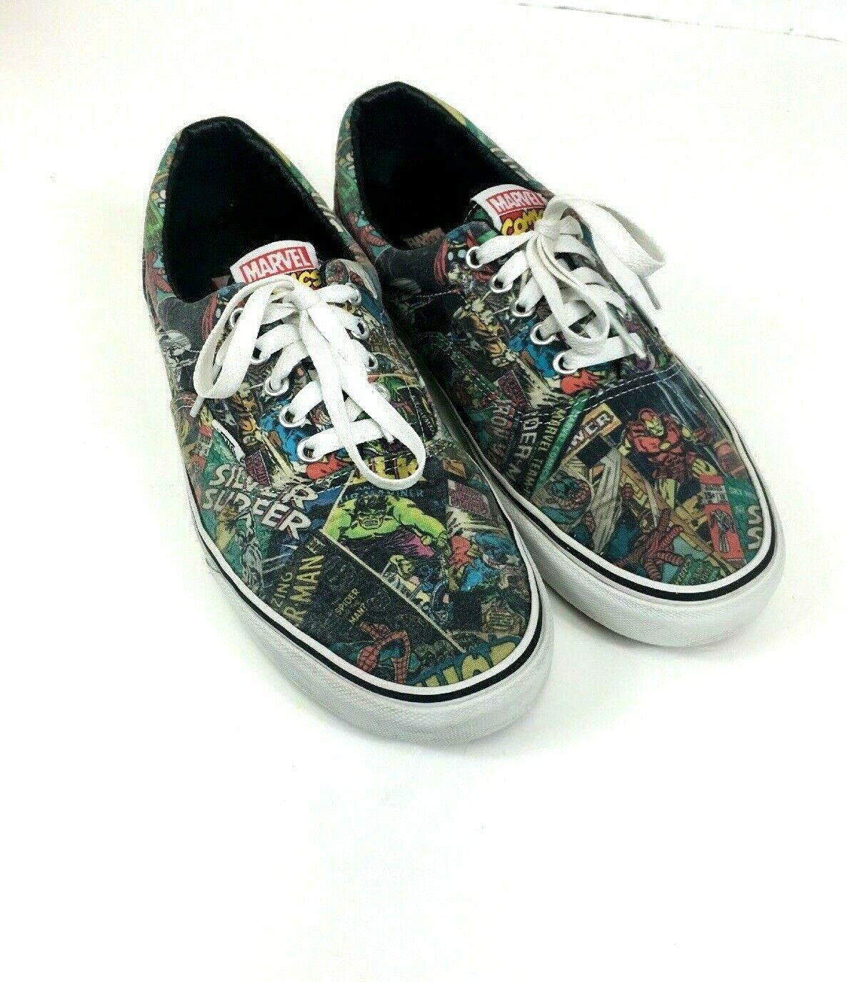 Skate Shoes Comic Book Mens