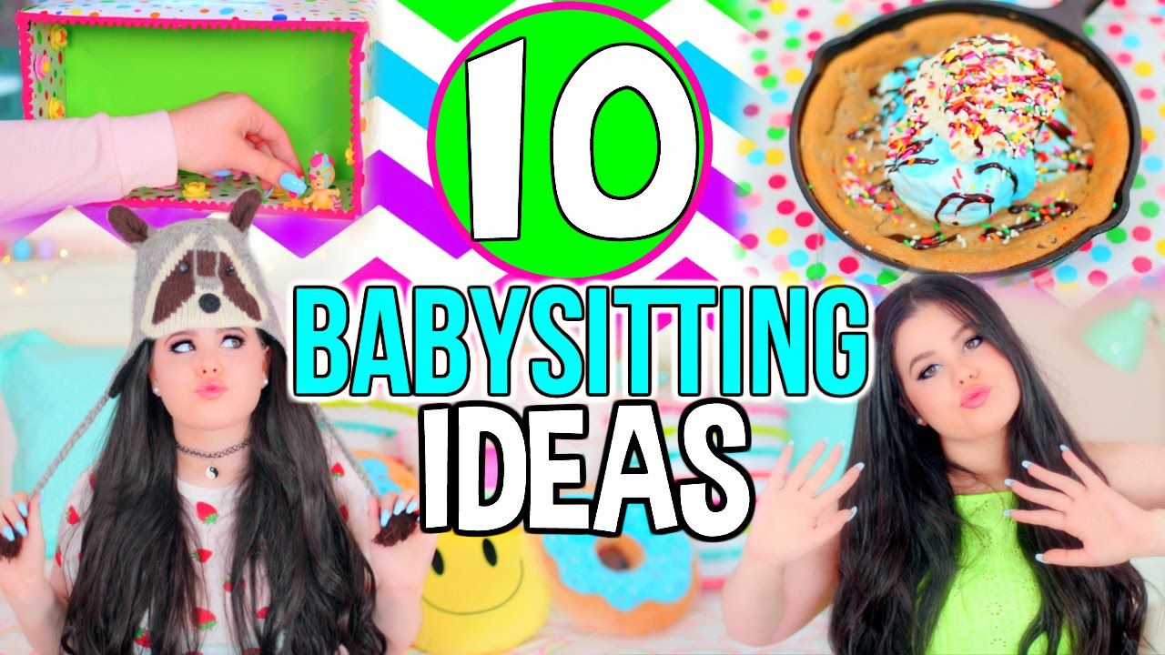 10 Babysitting Activities! FUN DIY Project/Crafts Ideas