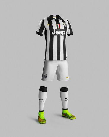 Juventus Home Kit 14 15 | Maglie, Juventus, Maglia nike
