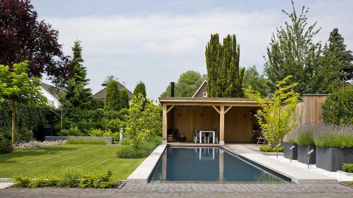 Zwembad in de tuin elzen zwembaden