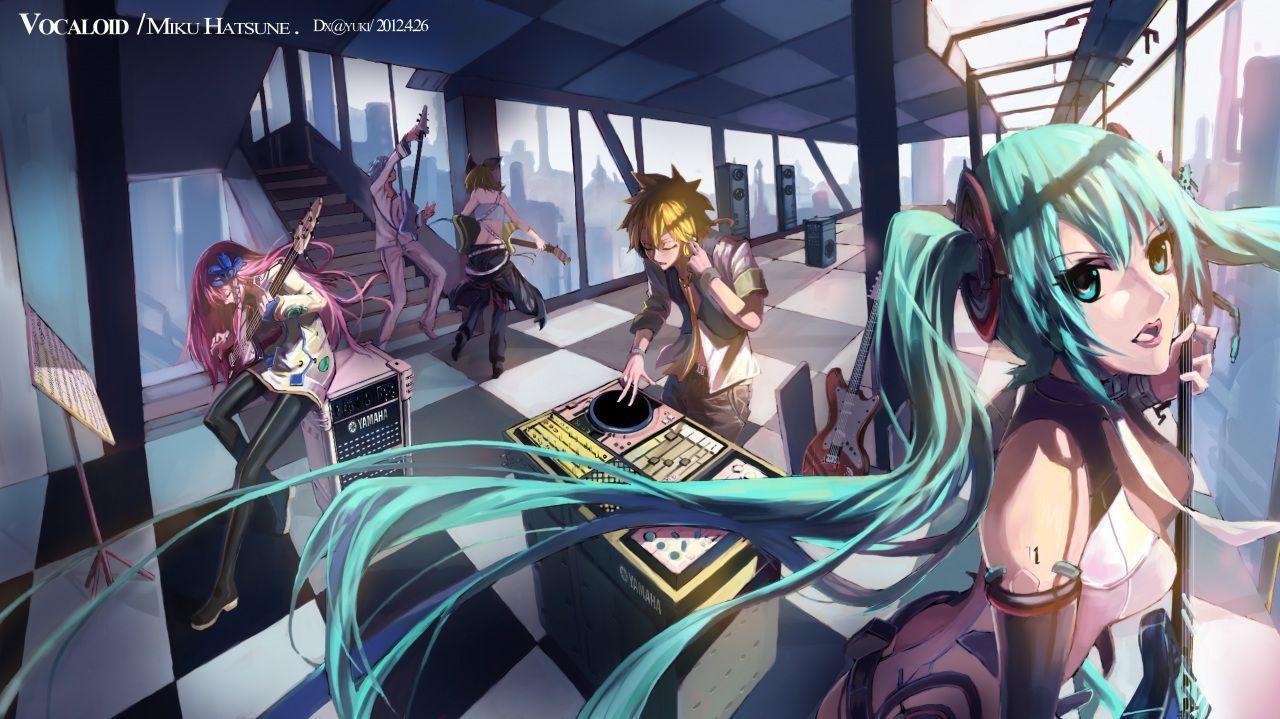 Vocaloid ( Вокалоид ) Аниме ДевушкиVocaloid ( Вокалоид