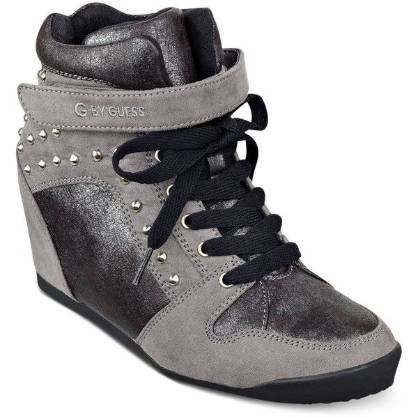 174c79e0dfde G by GUESS Raurie Glitter Wedge Sneakers and other apparel ...