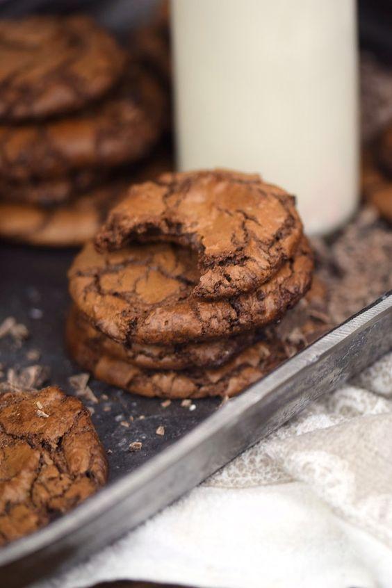 Brownie Cookies: Schokoglück leicht gemacht ⋆ Knusperstübchen