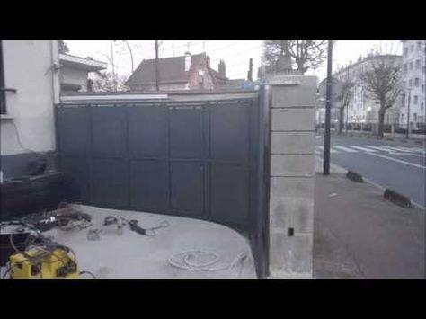 Portail Coulissant Sectionnel Angle Droit 90 M S M