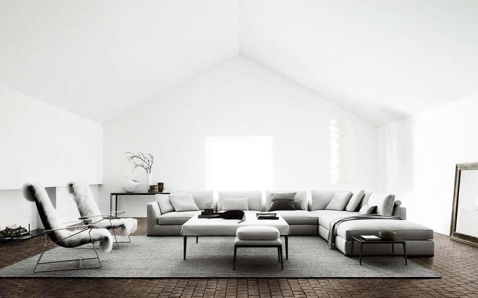 Richard Sofa For B B Italia Furniture Contemporary Furniture Contemporary Home Decor