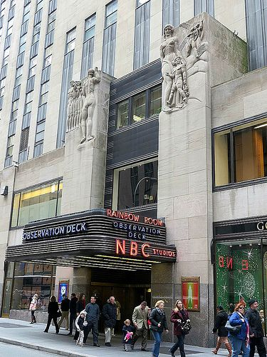 Nbc Studios 30 Rockefeller Center West 50th Street Between Fifth And Sixth Avenues New York City New York Vacation New York Travel New York City