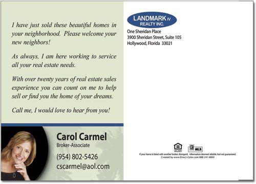 Real Estate Postcard Templates – Real Estate Marketing Postcard Templates