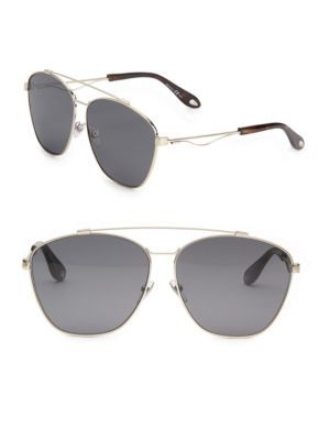c45596d848d7 GIVENCHY 65Mm Double-Bridge Aviator Sunglasses.  givenchy  sunglasses