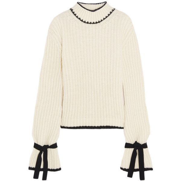 bd3b0a6135eab3 J.W.Anderson Oversized alpaca-blend turtleneck sweater (€700) ❤ liked on  Polyvore