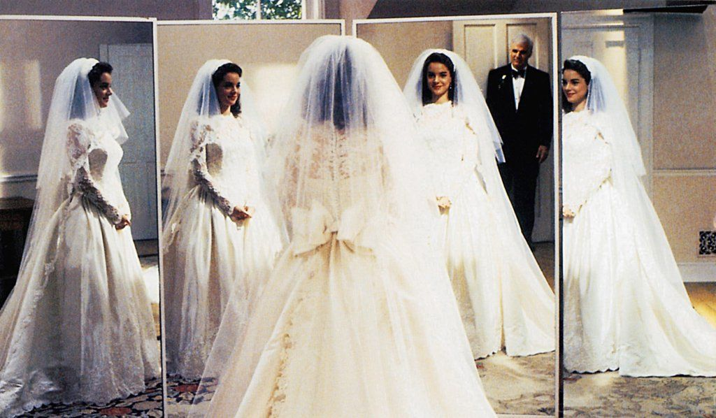 These Iconic Movie Wedding Dresses Will Take You Way Way Back Movie Wedding Dresses Wedding Movies Perfect Wedding Dress