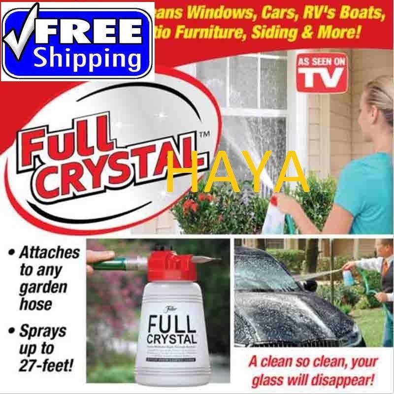 Fuller Brush Full Crystal Outdoor Glass Cleaner As Seen On