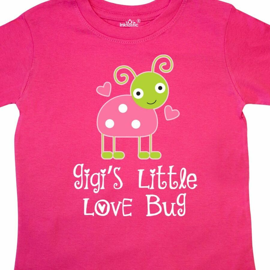 inktastic Grandma Little Love Bug Grandchild Baby T-Shirt