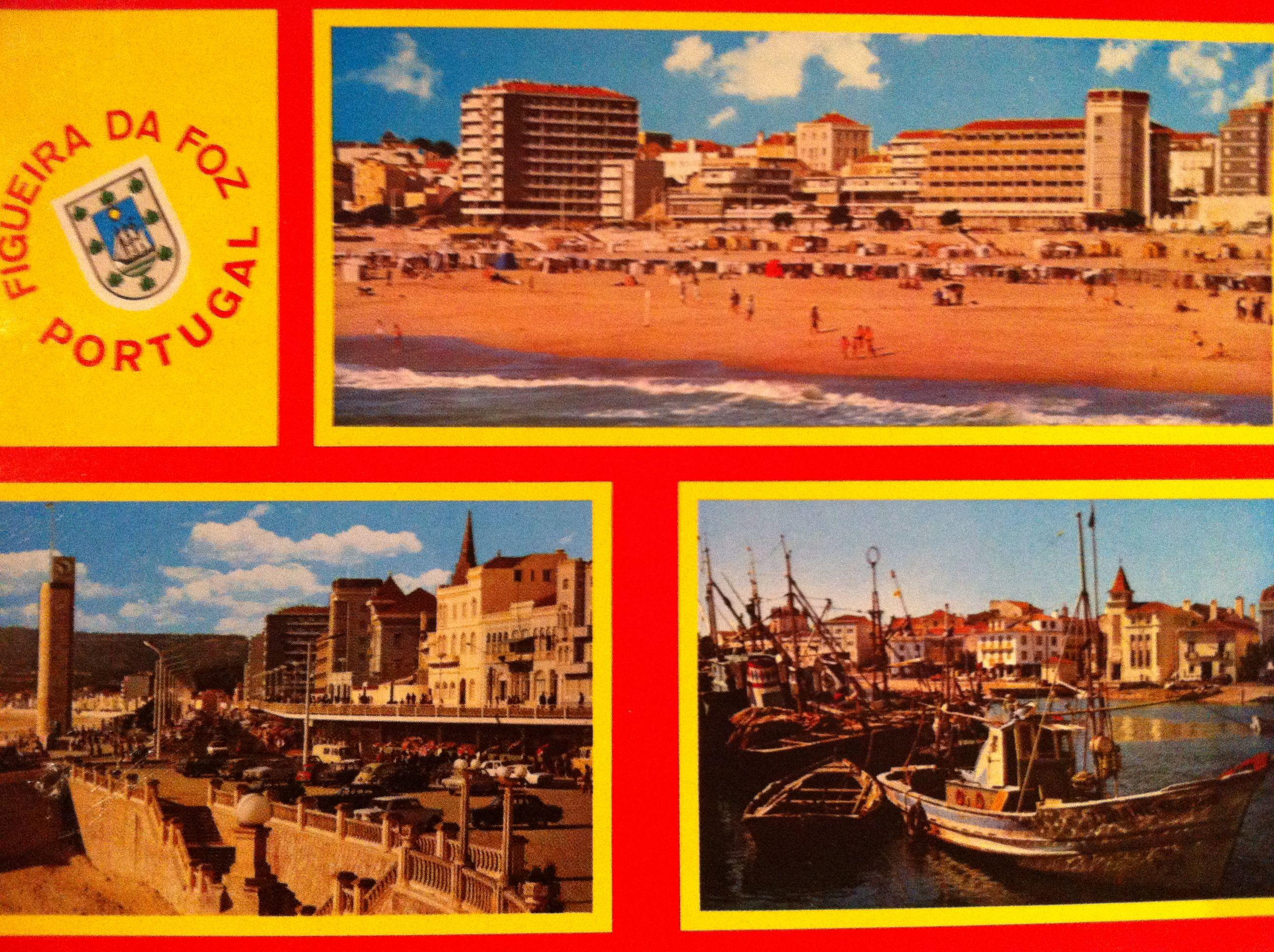 Figueira da Foz, Portugal. Coleção Dúlia Acquired in 1974.