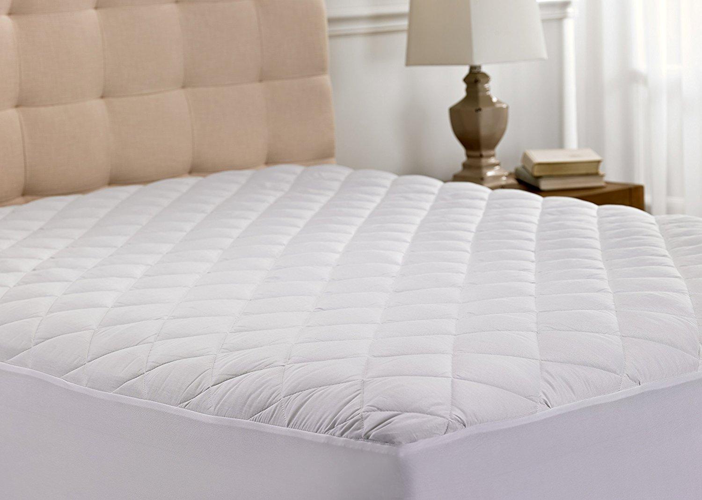 Beauty Sleep Ultra Soft Quilted Mattress Pad