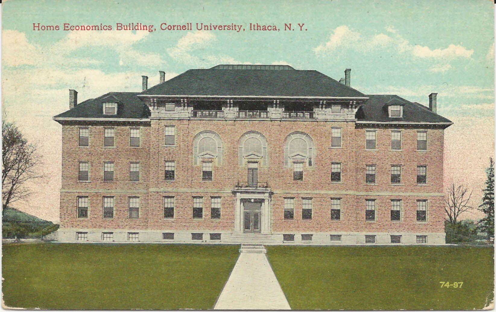 Home economics building, 1912-13. | Collection: Human