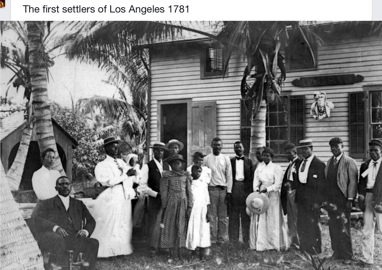 First Settlers Of Los Angeles