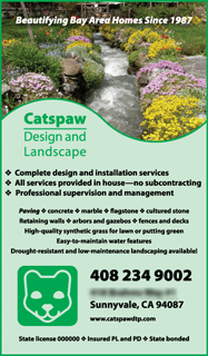 I found this landscaping ad to be a good example of incorporating ...